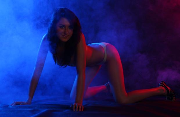 Zdjęcia z kolorowym dymem